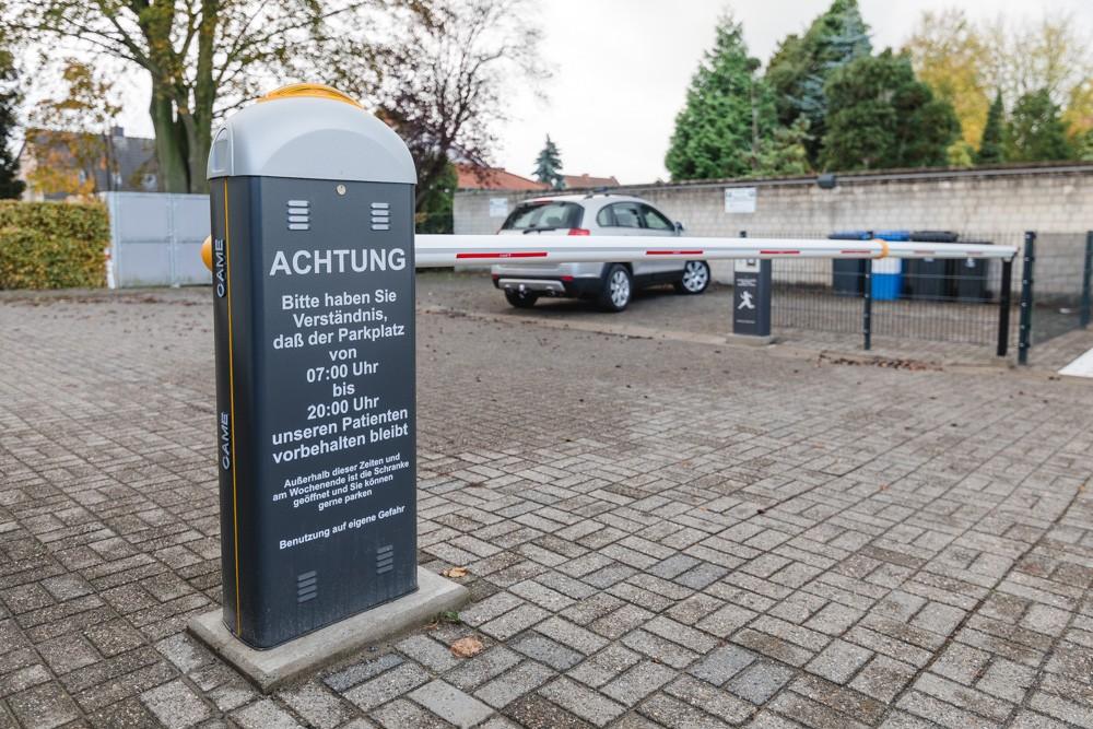 Metallbau Willy Wietis GmbH Hamm elektrische Parkplatzschranke