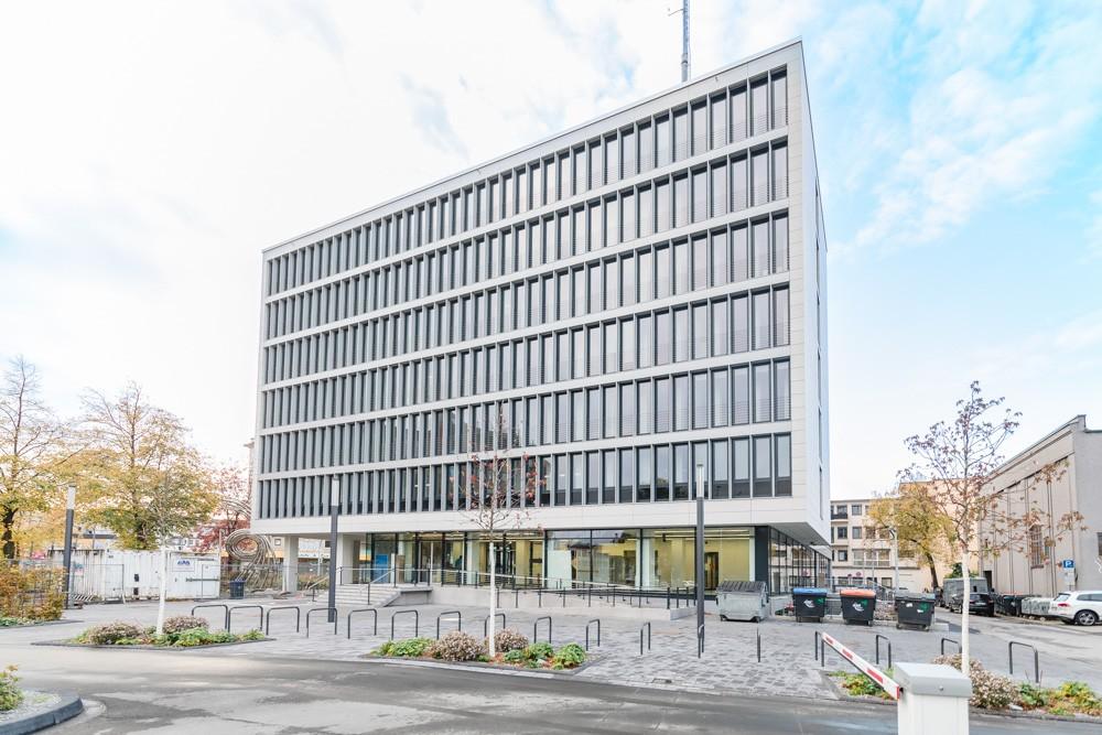 Metallbau Willy Wietis GmbH Hamm Briefkasten und Klingel Stadtwerke Hamm Neubau